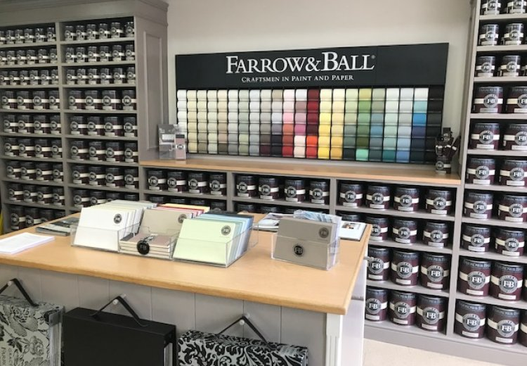 Our NEW Farrow and Ball paint mixing machine is here.