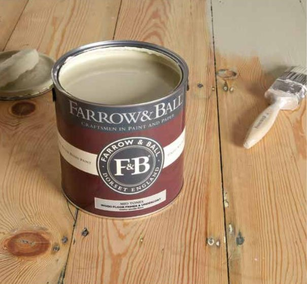 Applying Farrow And Ball Floor Paint