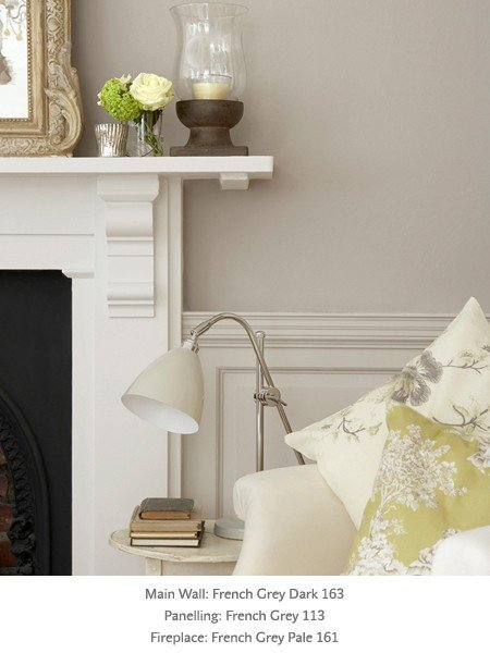 little greene french grey no 113 intelligent matt emulsion designer paint store. Black Bedroom Furniture Sets. Home Design Ideas