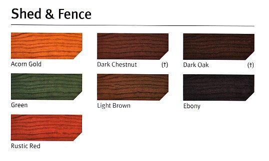 Brown Fence Paint Garden Design Ideas