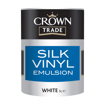 Crown Trade Vinyl Silk Emulsion Designer Paint Store
