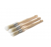 Pure Synthetic Sash Brush Pack (3pc)