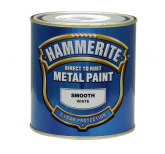 Smooth Metal Paint - White