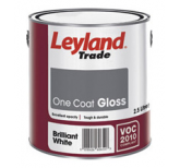 One Coat Gloss - Brilliant White