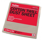 12' x 9' Cotton Twill Dust Sheet
